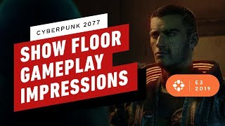 Cyberpunk 2077 Looked Better On the Show Floor Than Behind Closed Doors - E3 2019