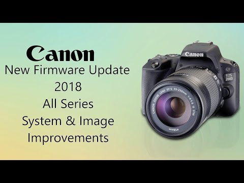 How To Update Canon DSLR | New DSLR Firmware | Improved Image Quality