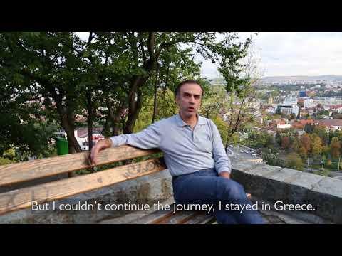 Sami's journey from Greece to Romania