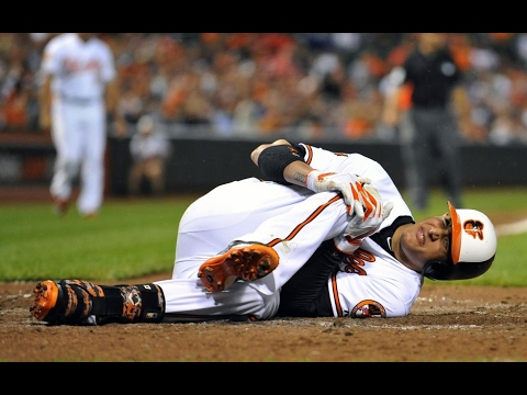 Worst MLB Injuries (WARNING)