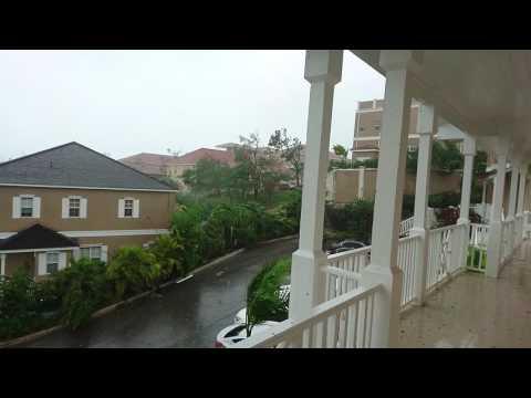 Hurricane Matthew From Balmoral in Nassau, New Providence, Bahamas