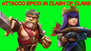 Attacco epico su Clash of Clans