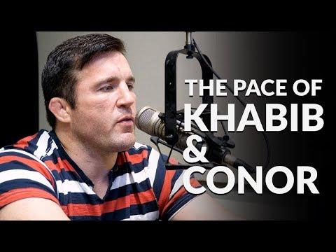 Chael Sonnen describes crazy Khabib Nurmagomedov private training session.