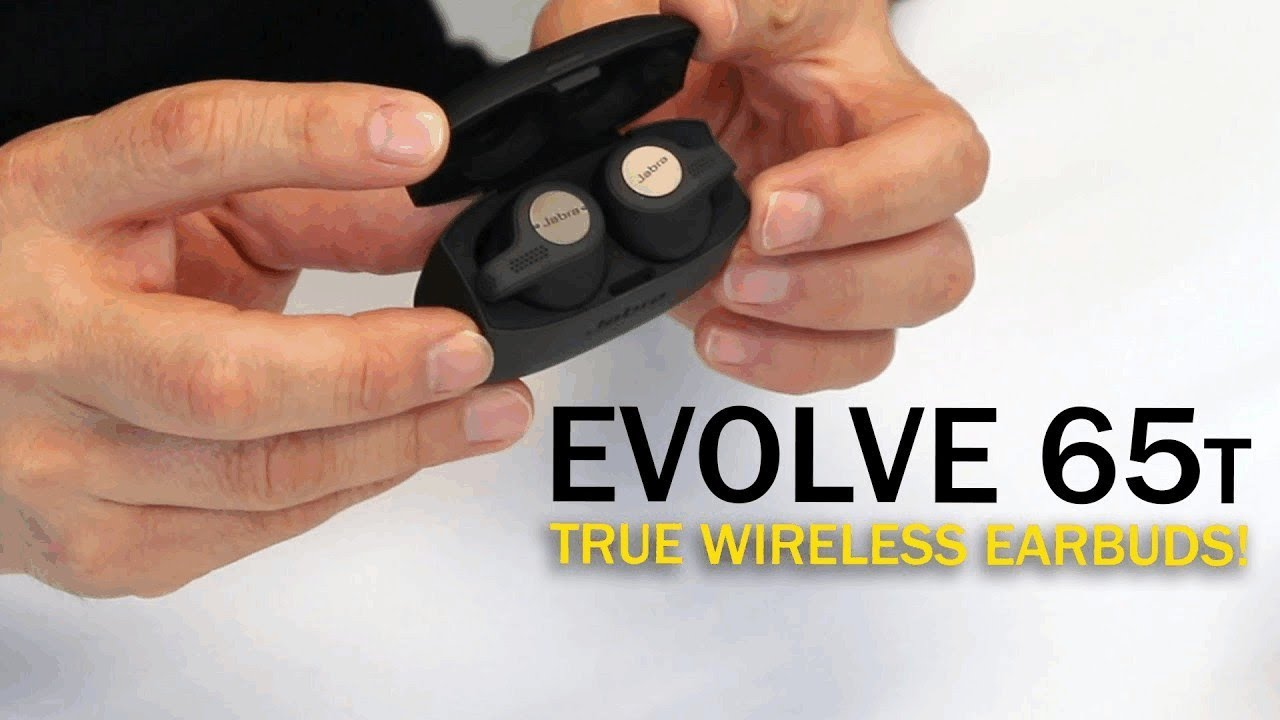 First Look At The Jabra Evolve 65t Earbuds Youtube