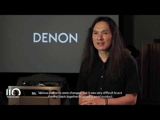Denon 110 Anniversary – Interview with AVR-A110 Sound Master