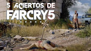 5 aciertos de Far Cry 5