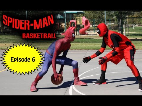Spiderman Basketball - Episode #6 ft Deadpool