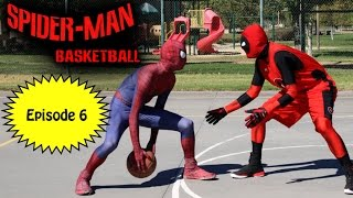 Repeat youtube video Spiderman Basketball - Episode #6 ft Deadpool