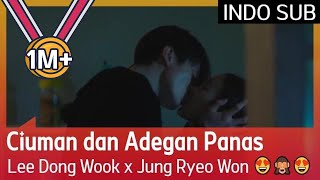 Ciuman dan Adegan Panas Lee Dong Wook x Jung Ryeo Won 😍🙈😍#BubbleGum 🇮🇩INDO SUB🇮🇩