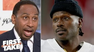 Antonio Brown 'looks worse and worse with each passing day' – Stephen A.   First Take