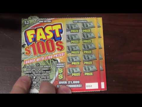FAST $100s - New $2 Ticket from the OHIO Lottery