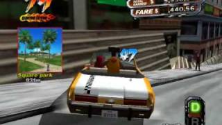 PC Crazy Taxi 3 WestCoast (San Francisco) Gameplay HQ Part 2