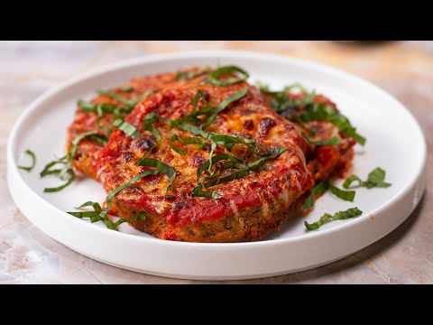 Low-Carb Eggplant Parmesan
