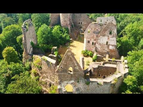 DJI SPARK  - Abandoned castle - Short demo Video