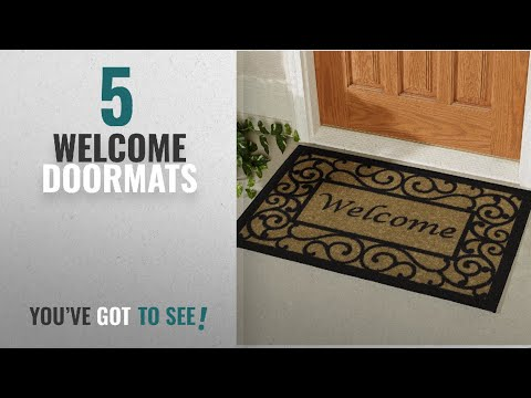 Top 10 Welcome Doormats [2018 ]: Ottomanson Ottohome Collection Rectangular Welcome Doormat