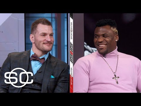 Francis NGannou and Stipe Miocic talk UFC 220 fight | SportsCenter | ESPN