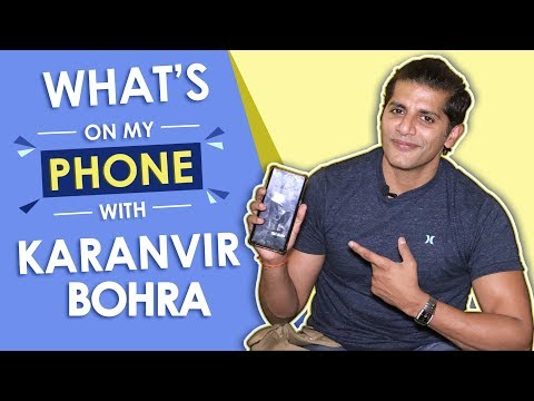 Karanvir Bohra: What's On My Phone | Phone Secrets Revealed | Exclusive