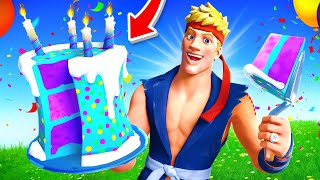 The *SURPRISE* BIRTHDAY Challenge in Fortnite!