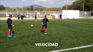 Calentamiento Pre-Partido Fútbol 7 ( Ejercicio Pases )