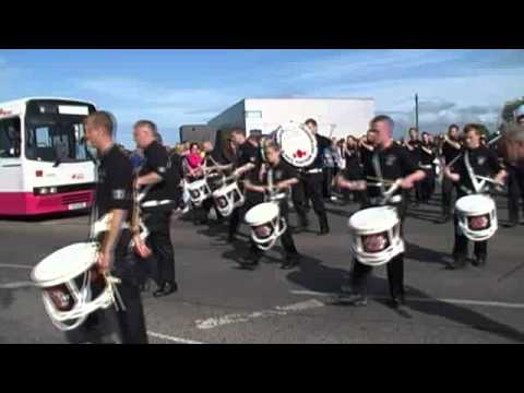 South East Antrim Defenders @ Cloughfern Young Conquerors Parade 2011