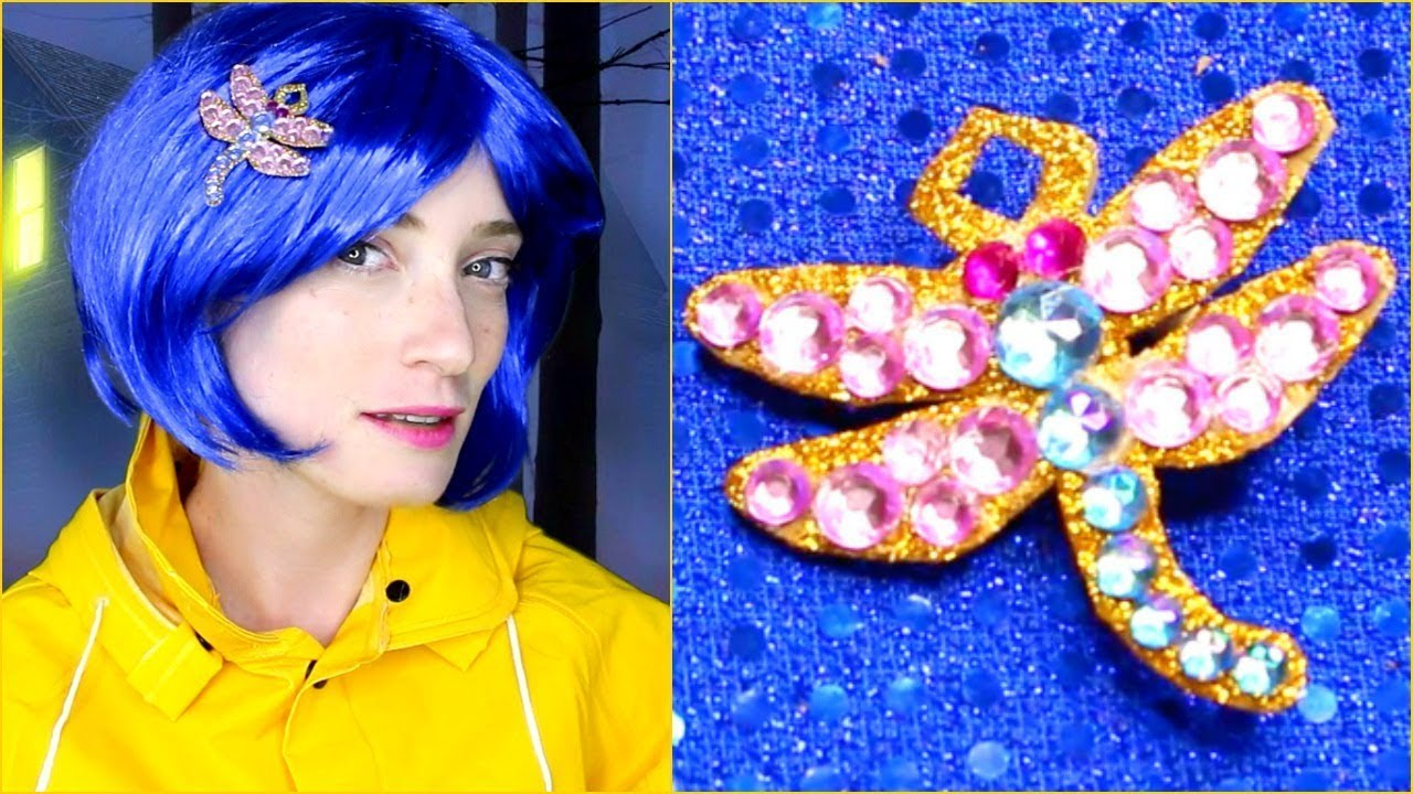 Coraline S Other Mother Halloween Makeup Tutorial And Costume Youtube