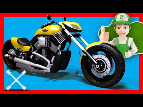 Мотоциклы смотреть мультфильм