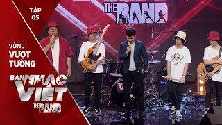 Nhìn Hay Hay - Crazy Frogs // Tập 5 vòng Vượt Tường   The Band - Ban Nhạc Việt 2017