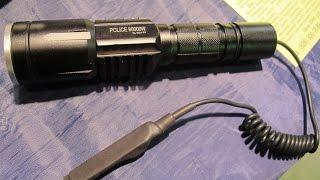 Светодиодный Тактический Аккумуляторный Фонарь BL Q01 T6 80000W(http://www.alarmgadget.ru/ Светодиодный Тактический Аккумуляторный Фонарь BL Q01 T6 80000W Подписывайтесь на канал