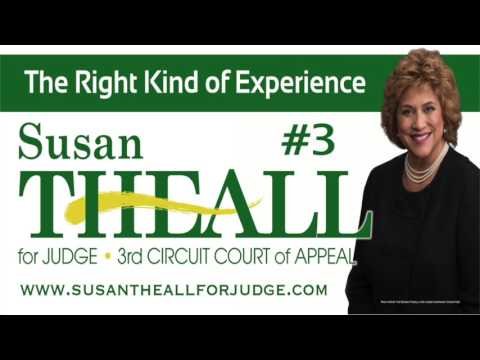 Susan Theall for Judge [Radio] | Third Circuit Court of Appeal | The Right Kind of Experience
