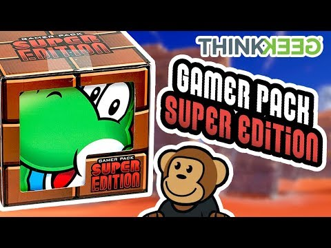 GAMER PACK SUPER EDITION from THINKGEEK! {UNBOXING/OVERVIEW}