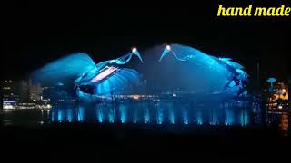 Singapore best places fountain dancing,Jurassic world, transformers and much more.....