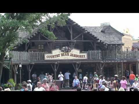 Frontierland Update 6/16/11 Rehab Scrims - Shooting Gallery -  Pecos Bills - Magic Kingdom