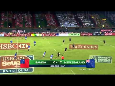 Emirates Airline Dubai Rugby Sevens - NZ vs Samoa