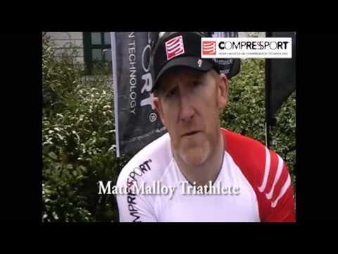Triathlete Matt Malloy explains why he chooses Compressport