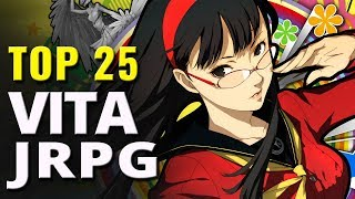 Top 25 Best PS Vita JRPG Video Games