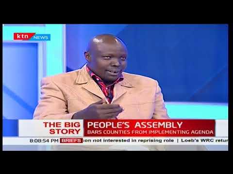 David Pkosing: People can exercise their sovereignty through elected representatives