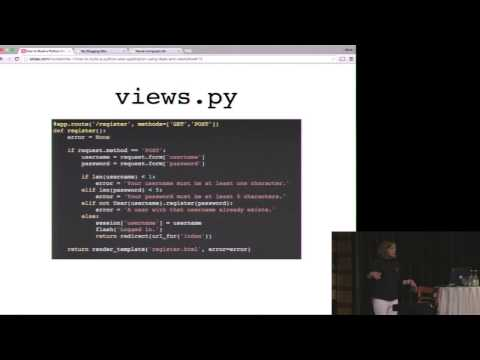 How to build a Python web application with Flask and Neo4j - PyCon SE 2015