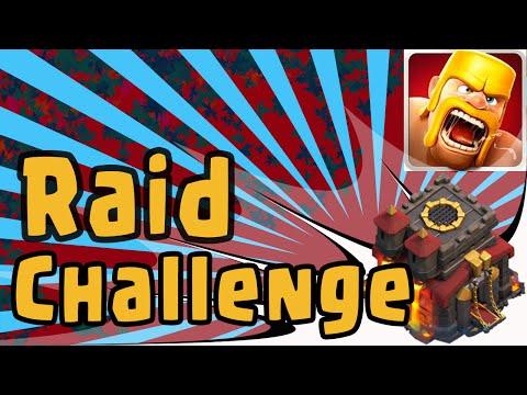 Clash of Clans Tips & Tricks - FYE - Town Hall 10 Master's Forum Raid Challenge (Loot Sucks)