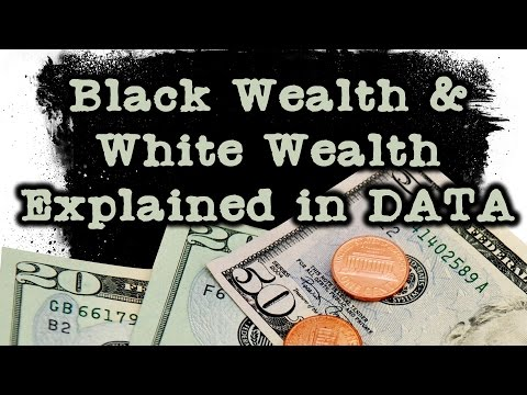 Black Wealth & White Wealth Explained With Data