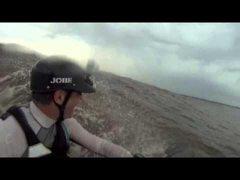 Bono Surfing Tidal Bore Sumatra Indonesia