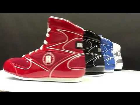 Ringside Lo-Top Diablo Boxing Shoes Red