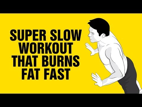 This Super Slow Workout Burns Fat Fast - 100% Bodyweight - Low Impact