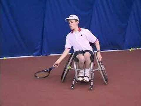 Wheelchair Tennis Training Video