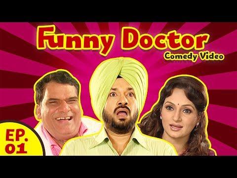 Funny Doctor (Web Series ) - Episode 01 (Comedy Video) - Gurpreet Ghuggi - Upasna Singh
