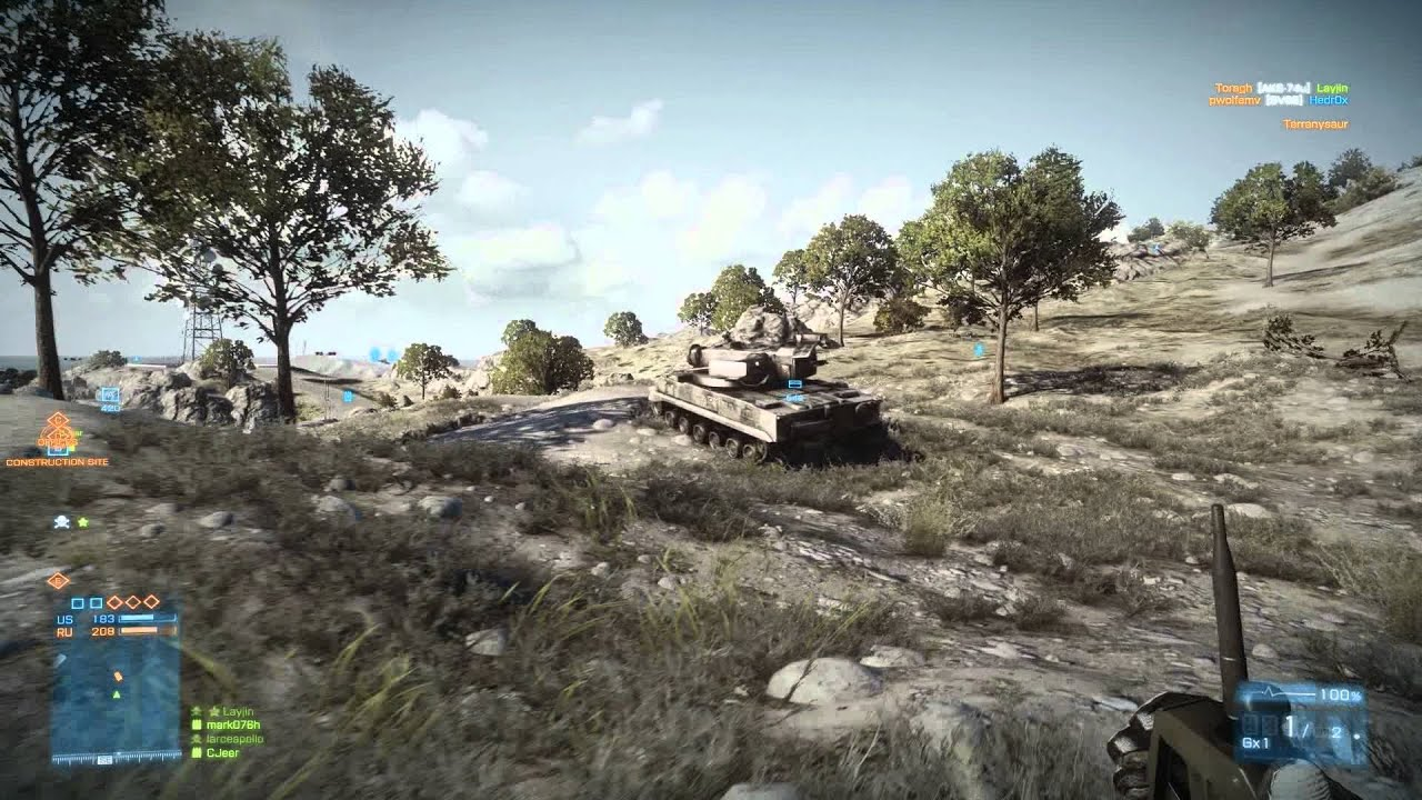 Battlefield 3: Taking out Tanks with C4 - YouTube