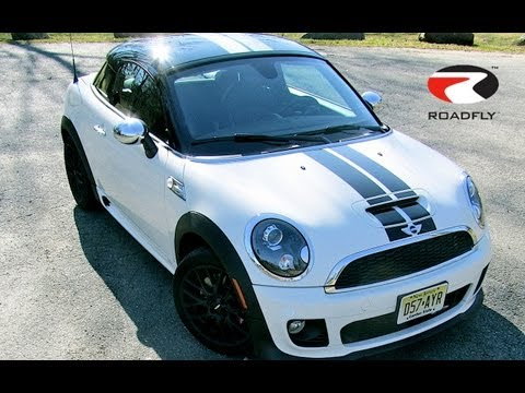 MINI Cooper Coupe JCW 2012 Test Drive & Car Review by RoadflyTV with Ross Rapoport