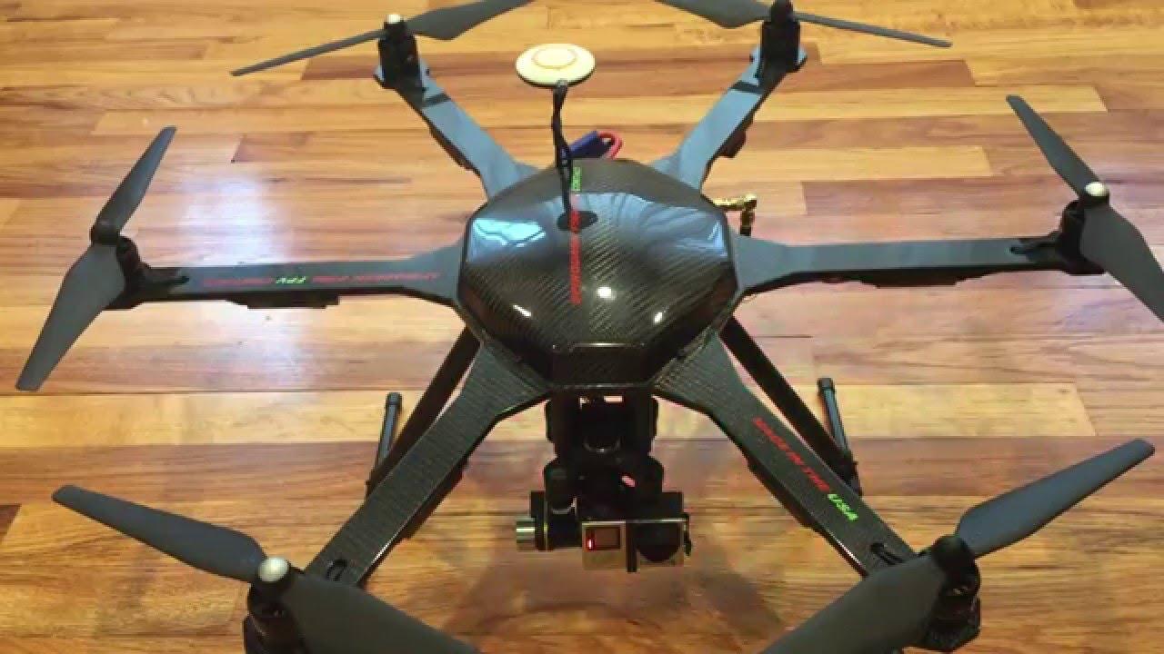 Spirodash F560 Hexacopter Frame Review - YouTube