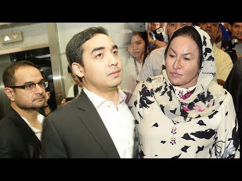 Rosmah, two sons at CCID HQ for questioning