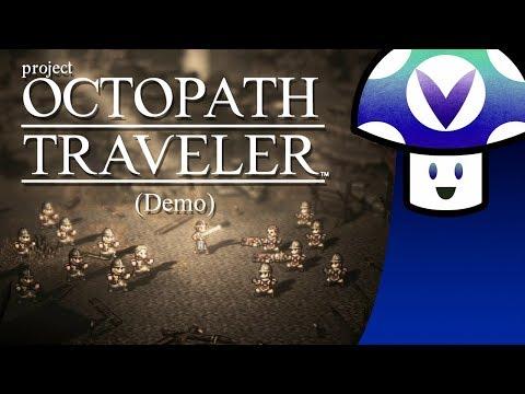 [Vinesauce] Vinny - Project Octopath Traveler: Demo + Art!