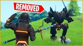 Fortnite Season X Without Mechs...